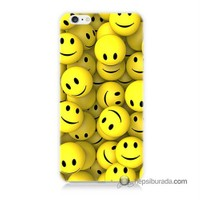 Teknomeg İphone 6S Kapak Kılıf Smile Baskılı Silikon