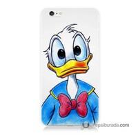 Teknomeg İphone 6S Kapak Kılıf Donald Duck Baskılı Silikon
