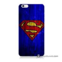 Teknomeg İphone 6S Kapak Kılıf Superman Baskılı Silikon