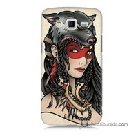 Teknomeg Samsung Galaxy Grand 2 Kapak Kılıf Pocahontas Baskılı Silikon