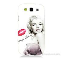 Teknomeg Samsung Galaxy S3 Marilyn Monroe Baskılı Silikon Kılıf