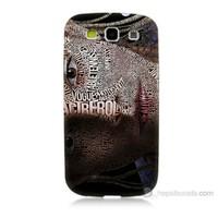 Teknomeg Samsung Galaxy S3 Yazılı Kadın Baskılı Silikon Kılıf