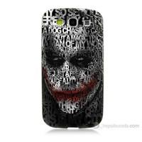 Teknomeg Samsung Galaxy S3 Joker Baskılı Silikon Kılıf