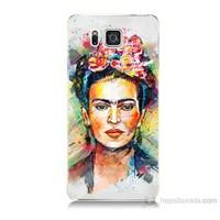 Teknomeg Samsung Galaxy Alpha G850 Frida Baskılı Silikon Kılıf