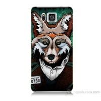 Teknomeg Samsung Galaxy Alpha G850 Bad Wolf Baskılı Silikon Kılıf