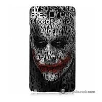Teknomeg Samsung Galaxy Note 3 Neo Kapak Kılıf Joker Baskılı Silikon
