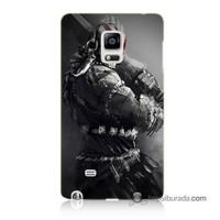 Teknomeg Samsung Galaxy Note Edge Kılıf Kapak Tribal Warrior Baskılı Silikon