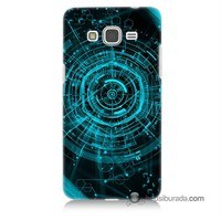 Teknomeg Samsung Galaxy Grand Prime Kapak Kılıf Asit Baskılı Silikon