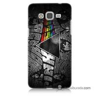 Teknomeg Samsung Galaxy Grand Prime Kapak Kılıf Pink Floyd Baskılı Silikon
