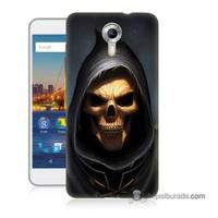 Teknomeg General Mobile 4G Android One Kılıf Kapak Ölüm Meleği Baskılı Silikon