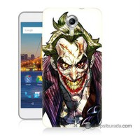 Teknomeg General Mobile 4G Android One Kapak Kılıf Joker Baskılı Silikon