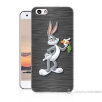 Teknomeg Vestel Venüs V3 5570 Bugs Bunny Baskılı Silikon Kapak Kılıf