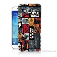 Teknomeg Samsung Galaxy A8 Kapak Kılıf Star Wars Baskılı Silikon