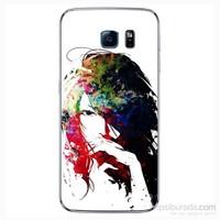 Cover&Case Samsung Galaxy S6 Silikon Tasarım Telefon Kılıfı Ccs02-S04-0141