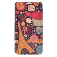 Teleplus Samsung Galaxy Note 4 Paris Desenli Kılıf