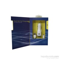 Fenerium Araç Şarjı-2100 Ma-Iphone 5-Byz