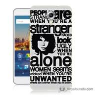 Teknomeg General Mobile 4G Android One Kapak Kılıf Afiş Baskılı Silikon