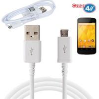 Case 4U Lg Nexus 4 Micro Usb Data Ve Şarj Kablosu