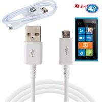 Case 4U Nokia Lumia 900 Micro Usb Data Ve Şarj Kablosu