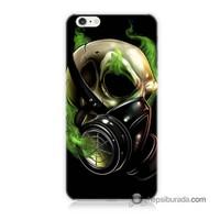 Teknomeg İphone 6S Kapak Kılıf Ölüm Maskesi Baskılı Silikon