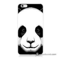 Teknomeg İphone 6S Kapak Kılıf Panda Baskılı Silikon