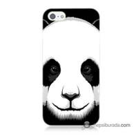 Teknomeg İphone 5 Kapak Kılıf Panda Baskılı Silikon