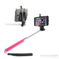 Mobile World Periscope / Selfie Çubuğu Pembe