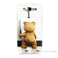 Teknomeg Samsung Galaxy S3 Tedy Bear Baskılı Silikon Kılıf