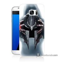 Teknomeg Samsung Galaxy S7 Edge Kılıf Kapak Assassins Creed Baskılı Silikon