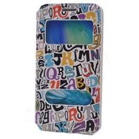 Teleplus Samsung Galaxy A3 Pencereli Desenli Kılıf Karışık