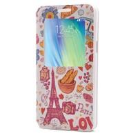 Teleplus Samsung Galaxy A5 Pencereli Desenli Kılıf Paris
