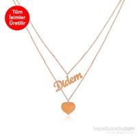 Divas Love İsimli Kalp Kolye