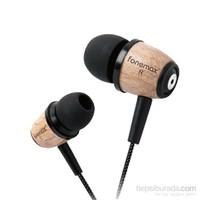 Fonemax X-WOOD Retro 3.5 mm Mikrofonlu Kulaklık