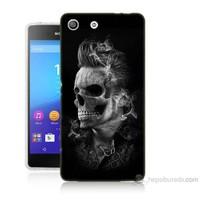 Teknomeg Sony Xperia M5 Elvis Presley Efsanesi Baskılı Silikon Kılıf