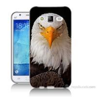 Teknomeg Samsung Galaxy J5 Kapak Kılıf Kartal Baskılı Silikon