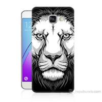 Teknomeg Samsung Galaxy A5 2016 Kapak Kılıf Aslan Baskılı Silikon