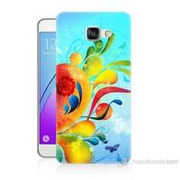 Teknomeg Samsung Galaxy A5 2016 Kapak Kılıf Renkli Desen Baskılı Silikon