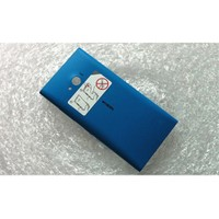 Teleplus Nokia Lumia 730 Arka Pil Batarya Kapak Mavi