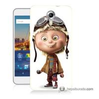 Teknomeg General Mobile 4G Android One Kılıf Kapak Çizgi Karakter Baskılı Silikon