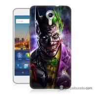 Teknomeg General Mobile 4G Android One Kılıf Kapak Batman Vs Joker Baskılı Silikon