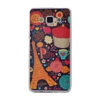 Teleplus Samsung Galaxy E7 Desenli Silikon Kılıf Paris