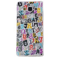 Teleplus Samsung Galaxy E7 Desenli Silikon Kılıf Yazı