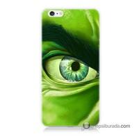 Teknomeg İphone 6 Plus Kapak Kılıf Hulk Yeşil Dev Baskılı Silikon