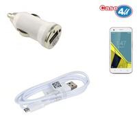 Case 4U Vodafone Smart 6 Araç Şarj Cihazı+Micro Usb Kablo
