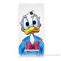 Teknomeg Asus Zenfone 5 Lite Donald Duck Baskılı Silikon Kapak Kılıf