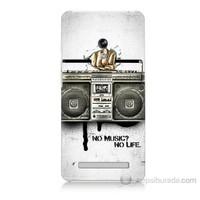 Teknomeg Asus Zenfone 5 Lite Müzik Hayattır Baskılı Silikon Kapak Kılıf