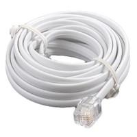 Ttec Telefon Kablosu 10 Metre Pluglu Beyaz Fiyatı