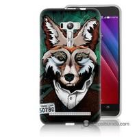 Teknomeg Asus Zenfone Selfie Kılıf Kapak Bad Wolf Baskılı Silikon