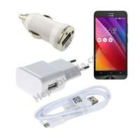 Fonemax Asus Zenfone Go 3İn1 Ev Ve Araç Şarjı + Data Kablosu Seti