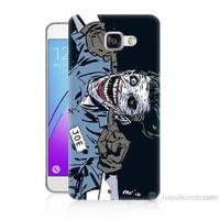 Teknomeg Samsung Galaxy A3 2016 Kapak Kılıf Joe Joker Baskılı Silikon